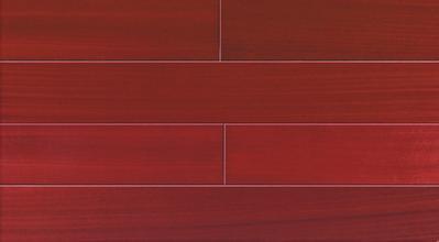 红色地板配什么颜色家具