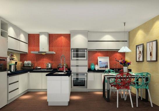 和一般的封闭式厨房设计相比较而言