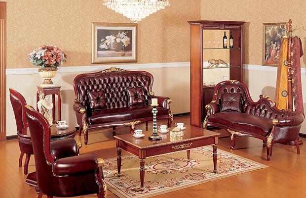 欧式红木家具的装修