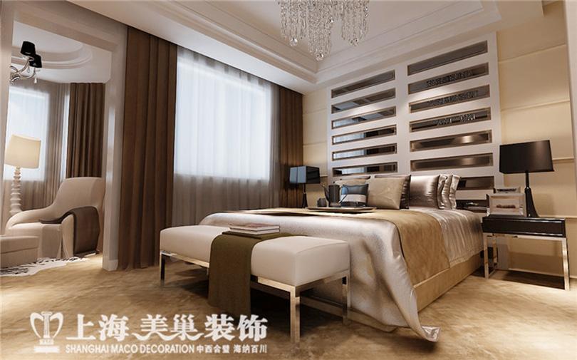 55平四室两厅现代简约风格次卧装修效果图高清图片
