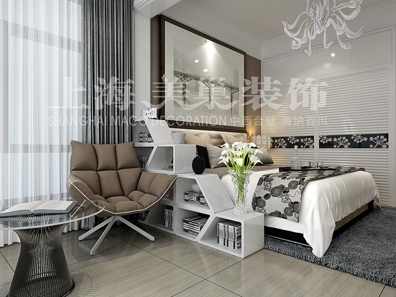 焦作绿都叠翠园两室两厅89平现代简约风格装修效果图 客厅