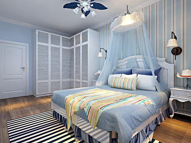 卧室装修效果图  简单温馨的卧室使人在居住过程中显得非常舒服