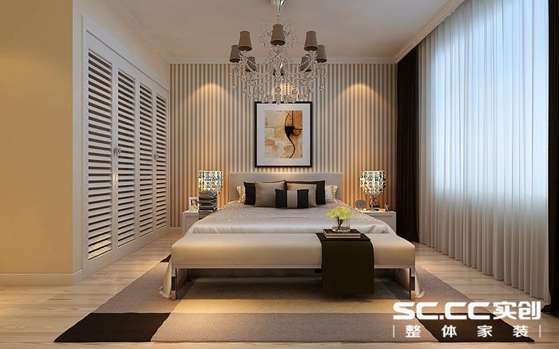 客厅装修效果图 电视墙造型,以曲线造型体现了女性的柔和美,简约的