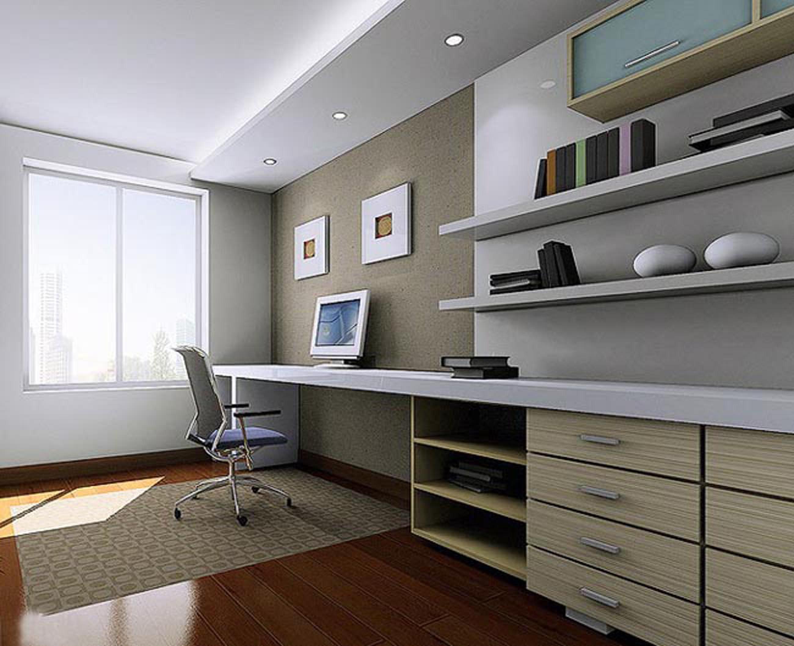 家居 设计 书房 装修 2600_2116