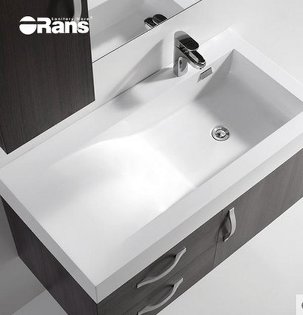 欧路莎1米卫浴柜洗脸盆浴室柜组合洗手盆台盆柜2655