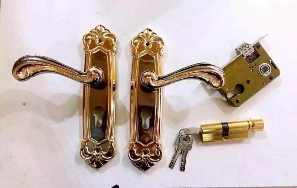 房门锁蒙西欧211枪金