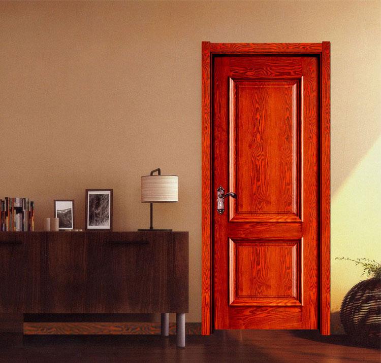 欧宝隆木门专属定制中式实木烤漆门
