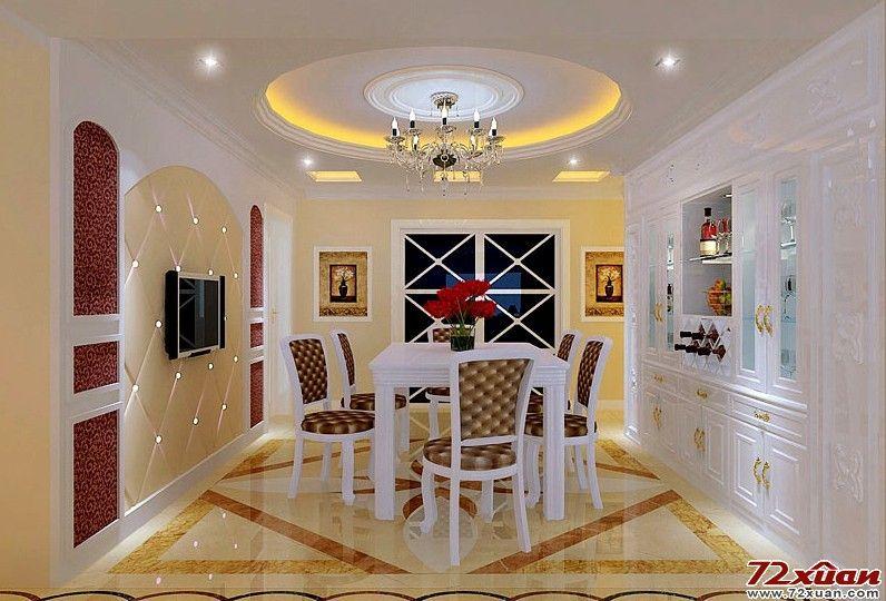 家装多层圆形造型