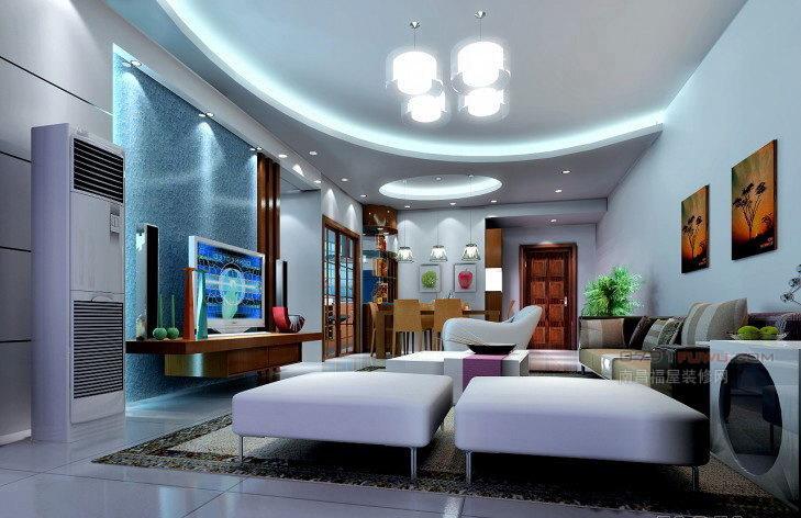 客廳吊頂弧形造型