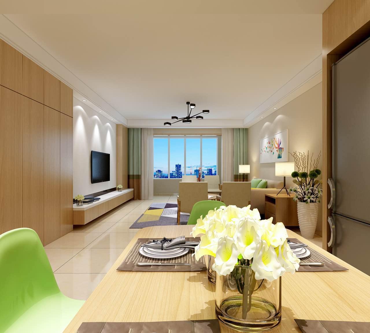 【呼市实创装饰】玉锦轩小区|140平米现代风格/经典装修案例