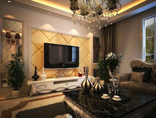 【滨江俊园】二期后湾3室2厅2卫面积约125�OB户型欧式