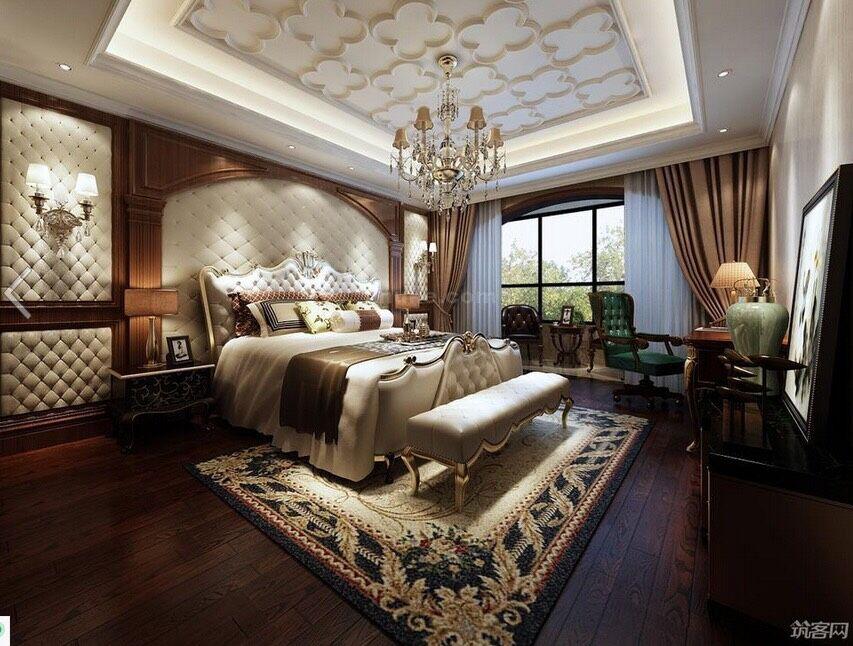 欧式华丽卧室