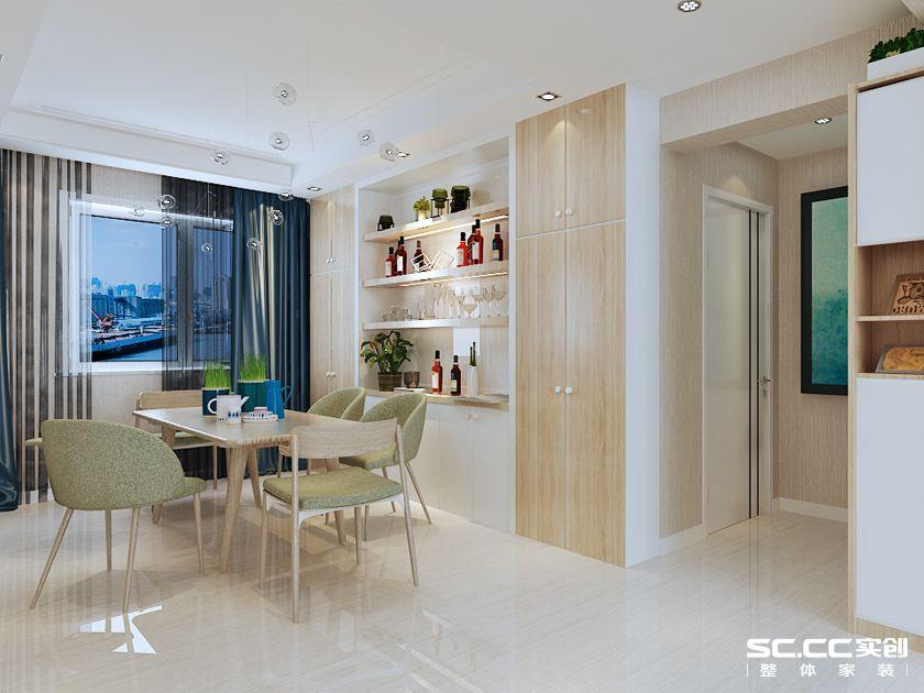 海尔地产·玫瑰兰庭132平三居室C1户型欧式装修|青岛实创装饰