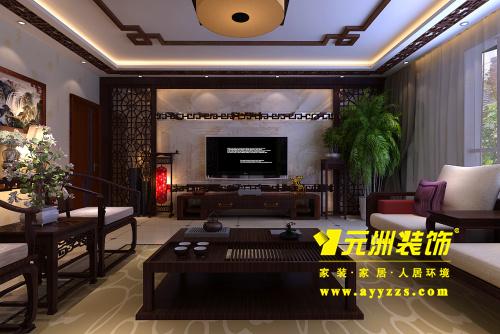 功能区设计说明             中式风格是以宫廷建筑为代表