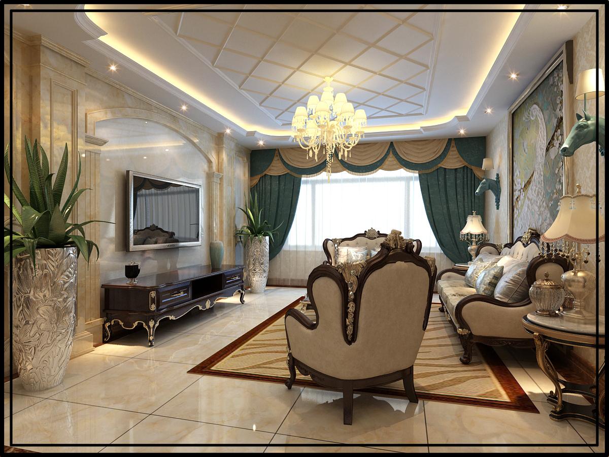 欧式风格设计索尼亚装饰施工