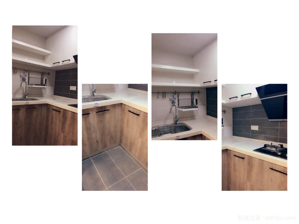 三空间小区北欧厨房效果图
