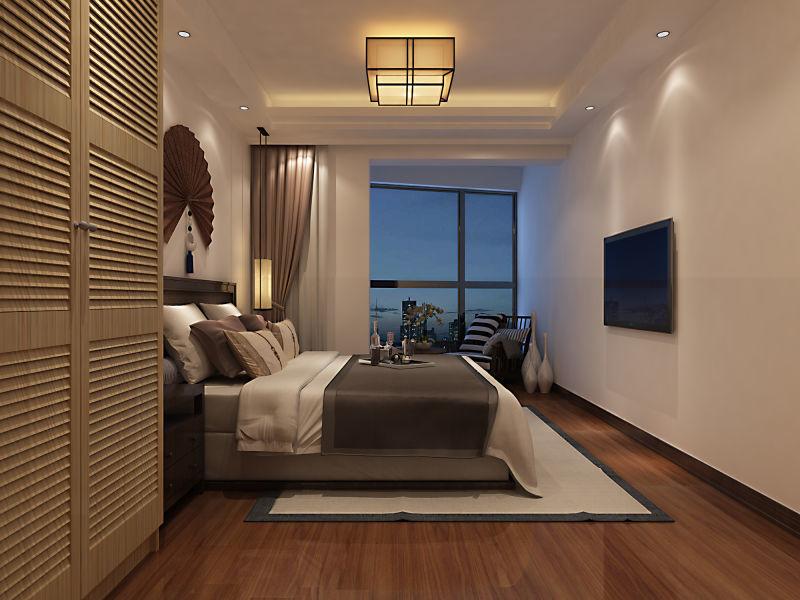 北海中祥装饰案例分享--卧室设计案例
