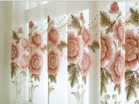 欧式客厅卧室镂空水溶绣花奢华成品布料