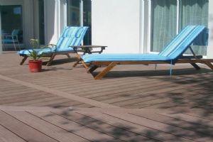 塑木地板长条PE木塑户外室外防水工程花园公园阳台景观