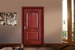 欧宝隆木门品牌定制开放漆实木套装门