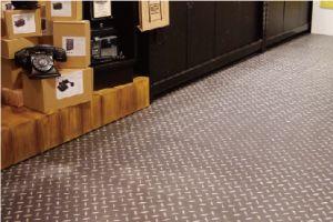 石塑地板商场地板及台湾高雄机场