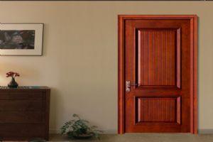 欧宝隆木门中式实木套装门