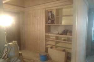 汕头龙腾嘉园120m2卧室衣柜定制施工案例
