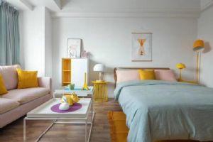 现代简约北欧单身公寓