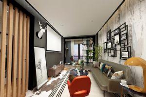 现代公装客厅,客厅效果图