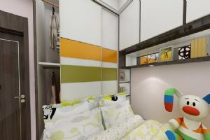 保利二期儿童房,卧室效果图