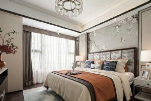简约中式卧室