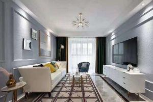 蔷薇国际120平    美式样风格样板房