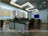 建业左岸国际170平办公室装修