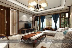中弘中央广场客厅装修效果图