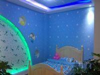 蓝调梦幻儿童房
