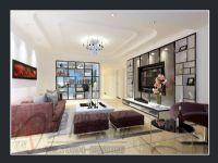 凯天铂宫现代3房装修设计