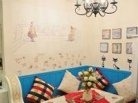 珠海宏翰装饰地中海风格的蓝白清新客厅