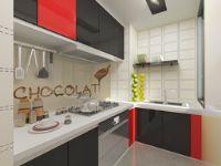 珠海宏翰装饰现代风格美观实用的厨房