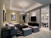 欧式古典150平米三房二厅二卫明快装修效果图