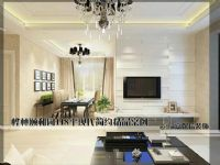【嘉保信装饰】桦林颐和苑118平现代简约精品客厅