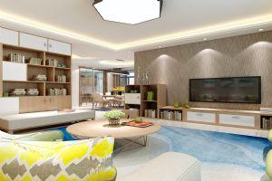 【呼市实创装饰】香格里小区|148平米现代风格/经典装修案例