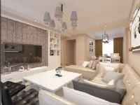 华邦繁华里现代简约风112平三居室装饰装修