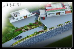 户外景观设计效果图