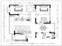 欧式新古典打造170平四室两厅美居
