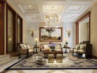 清华大溪地美式别墅样板房装修设计工程项目