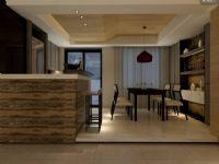 金桂丽湾现代简约半开放式厨房油烟分区