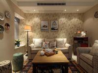 新城国际95平2居室美式小清新设计