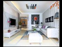 林荫大院C5户型117平米三室两厅现代简约风格装修