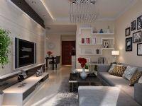 盛世御城A2户型92平米两室两厅现代简约风格装修