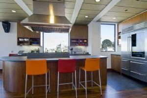 厨房餐厅一体效果图